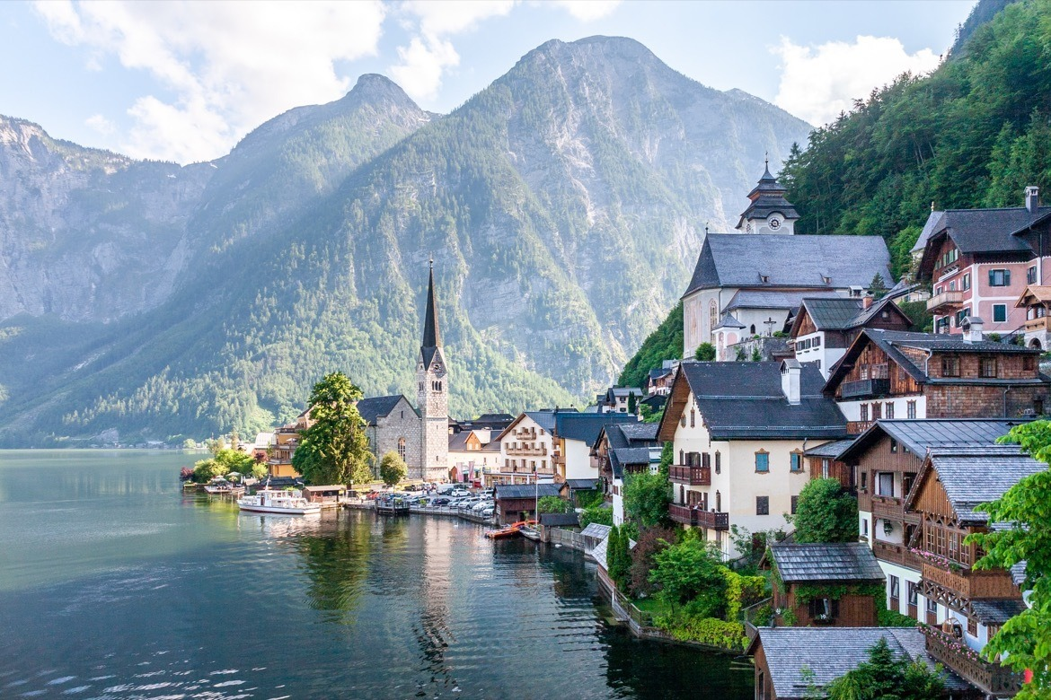Hallstatt is one of the best day trips from Salzburg