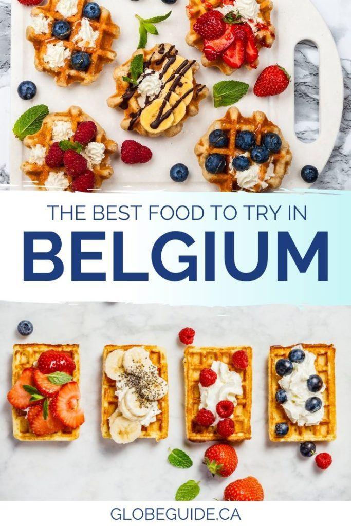 The best food in Belgium