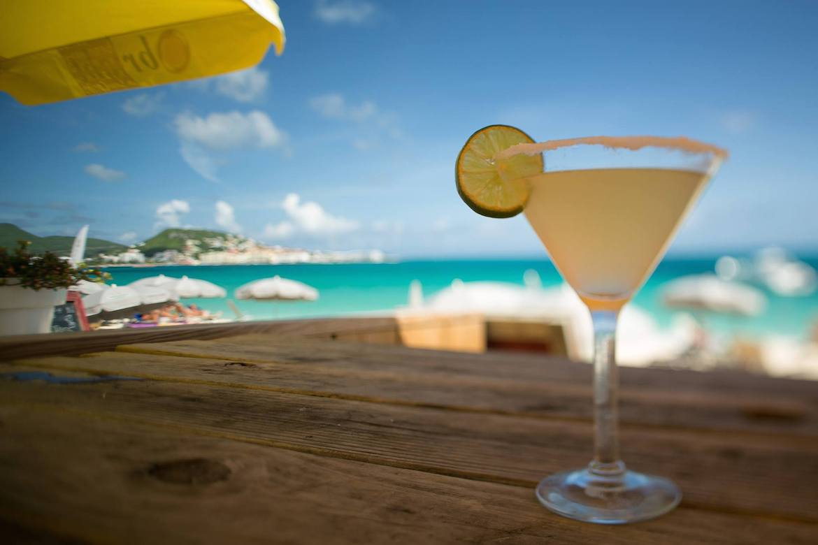A cocktail in St. Martin