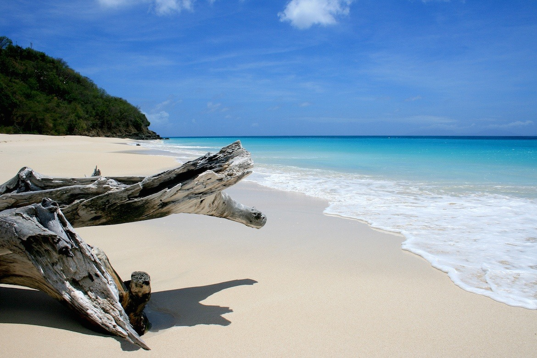 Ffryers Beach in Antigua
