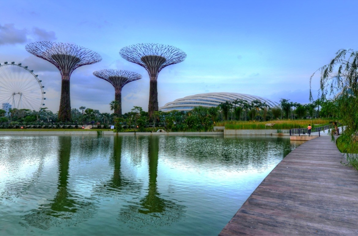 Gardens by the Bay. Where to go in Singapore on a stopover