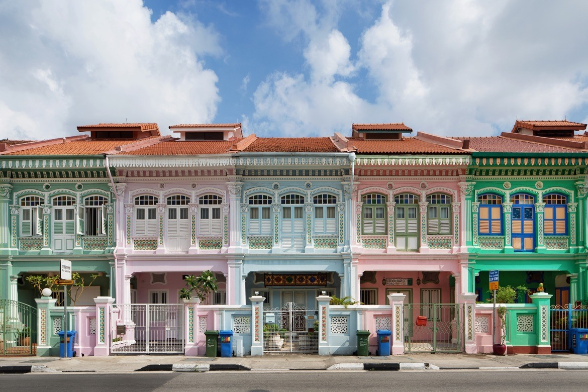 Where to go in Singapore on a stopover. Katong Paranakan