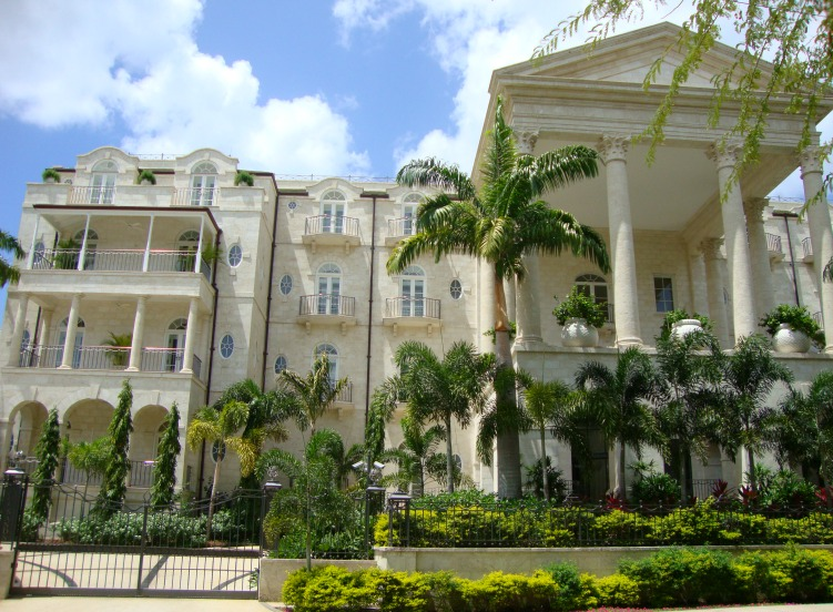 Sandy Lane Hotel in Barbados