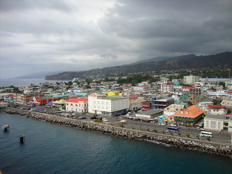 Roseau, Dominica.