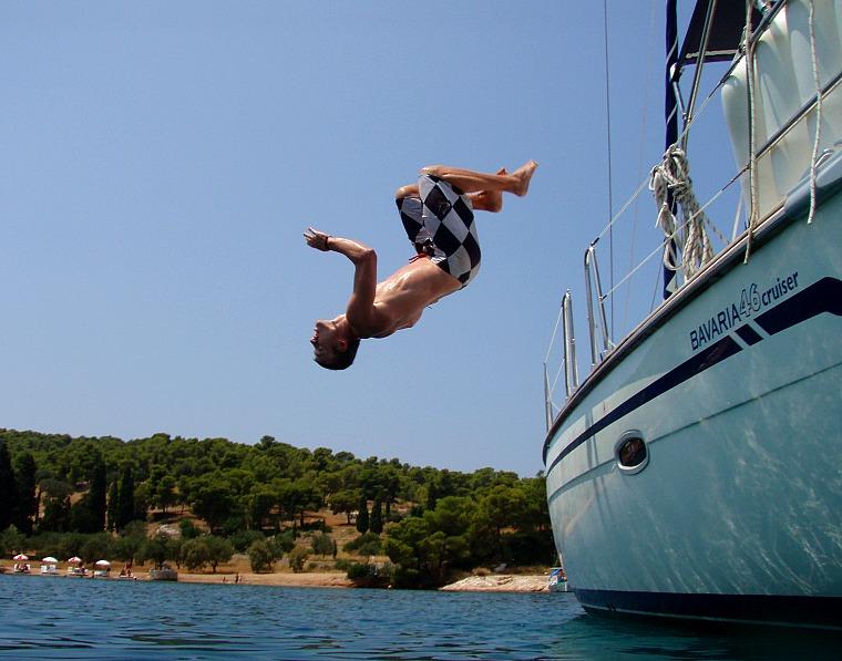 greece sailing yacht water
