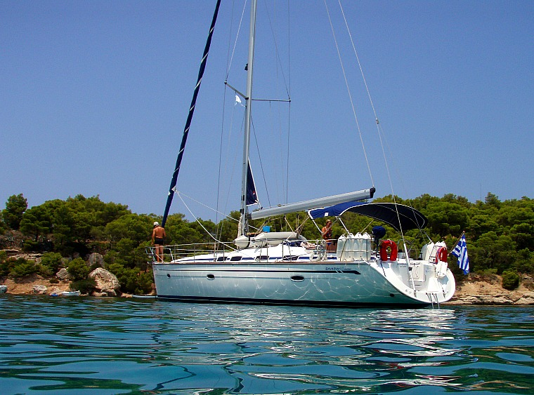 greece sailing yacht water