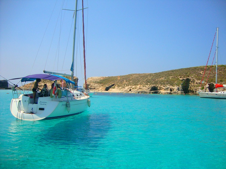 The Blue Lagoon is one of the best things to do in Malta