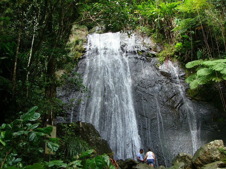 La Coca Falls. Puerto Rico itinerary: Things to do in Old San Juan