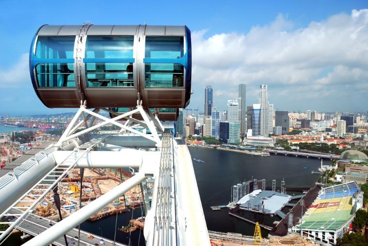 Singapore Flyer. Shutterstock.