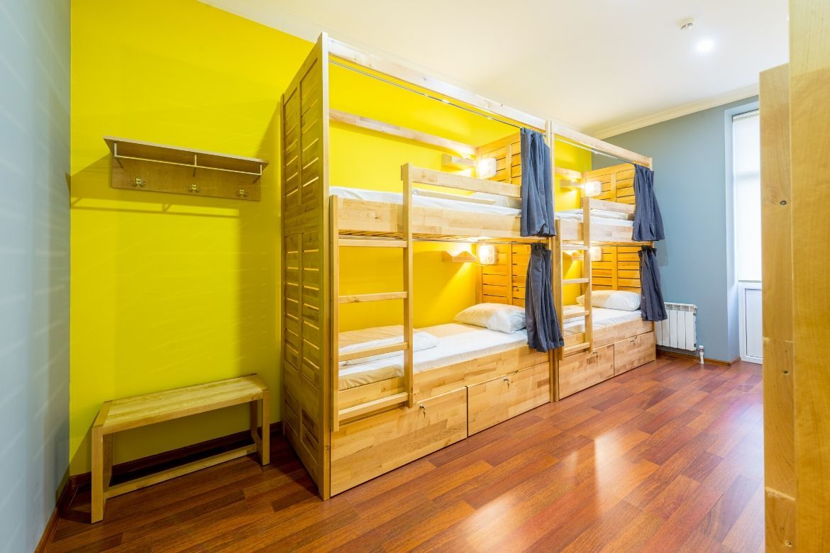 Tips for traveling to europe for the first time: stay at a hostel