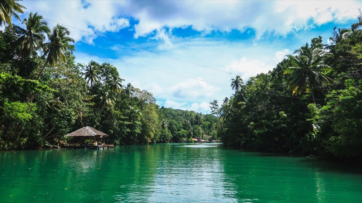 The Loboc River is one of the top Bohol attractions