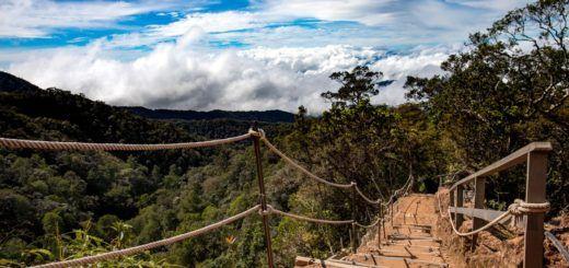 Hiking Mount Kinabalu in Borneo, Malaysia