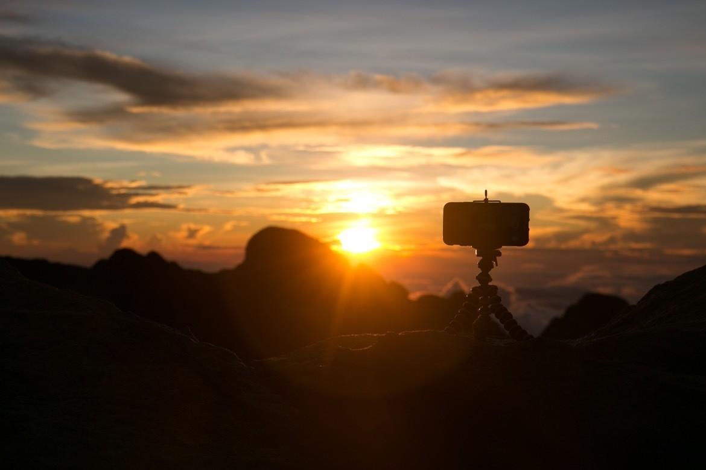 Sunrise on the Mt Kinabalu hike