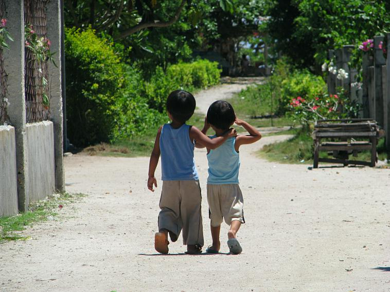 Brothers on Balisicag Island.
