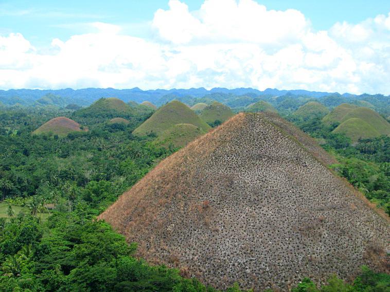 The Chocolate Hills. philippines