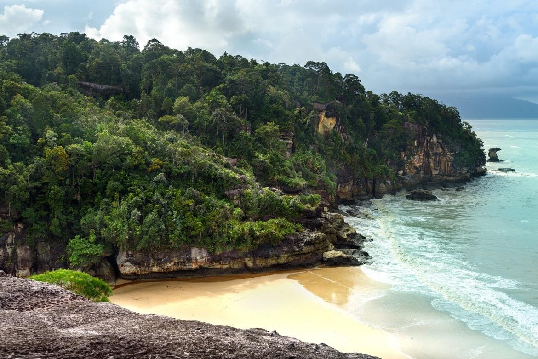 Telok padan kecil in Bako National Park. Sarawak. Borneo. Malaysia