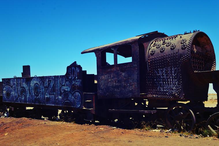 The Train Cemetery.