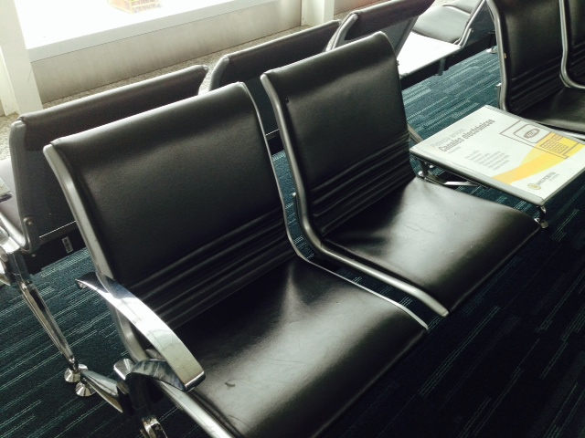 Enjoy this seat- you'll be waiting a while!
