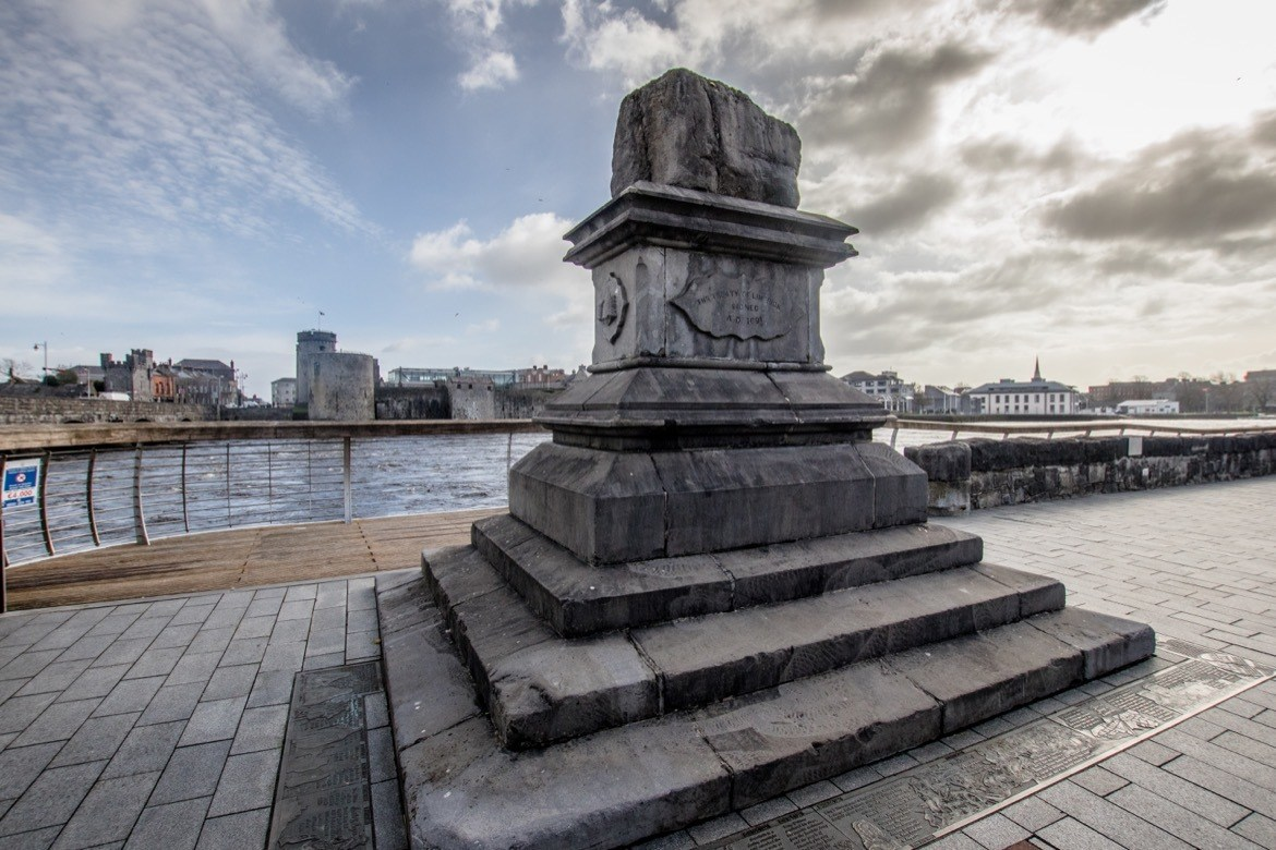 What to do in Limerick: The Treaty Stone
