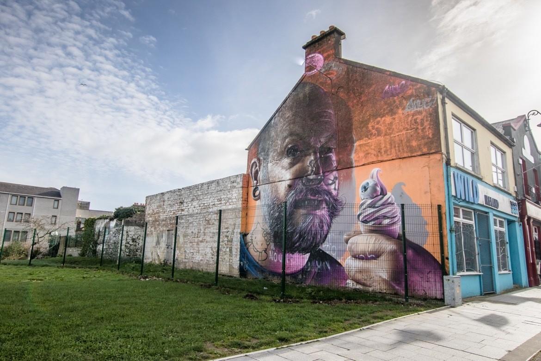 Street art in Limerick, Ireland