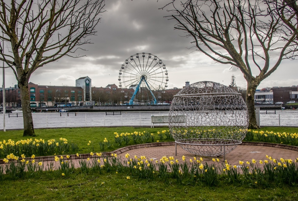 The Panoramic Wheel in Limerick, Ireland