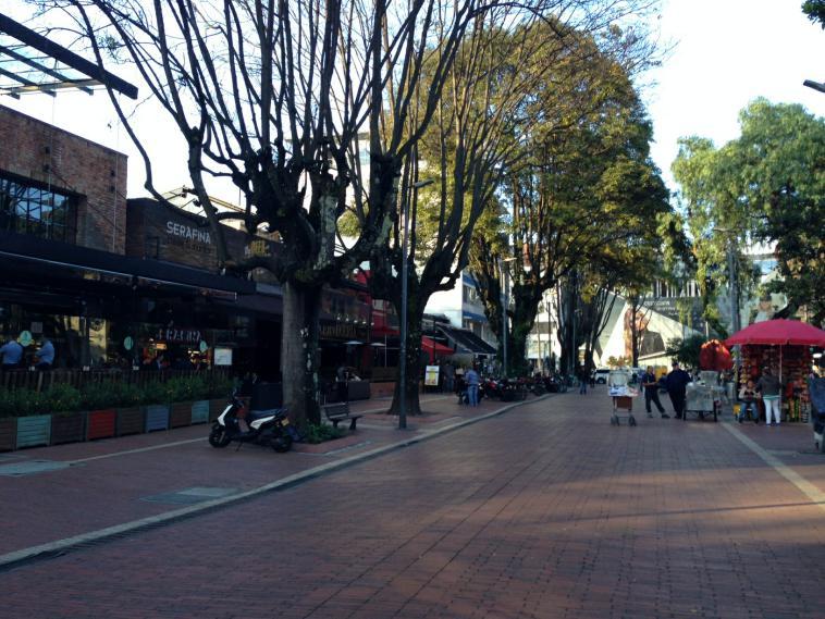 Zona Rosa in Bogota
