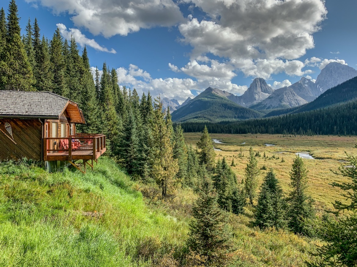 Mount Engadine Lodge in Kananaskis, Alberta