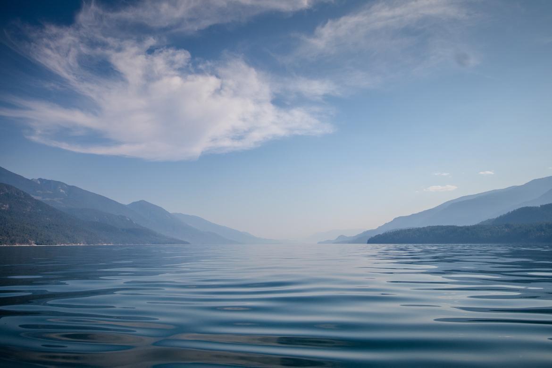 Kootenay Lake in Kootenays BC