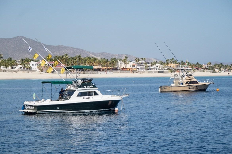 Los Barriles Mexico fishing boats