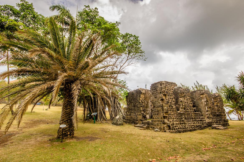Pigeon Island National Landmark in St Lucia