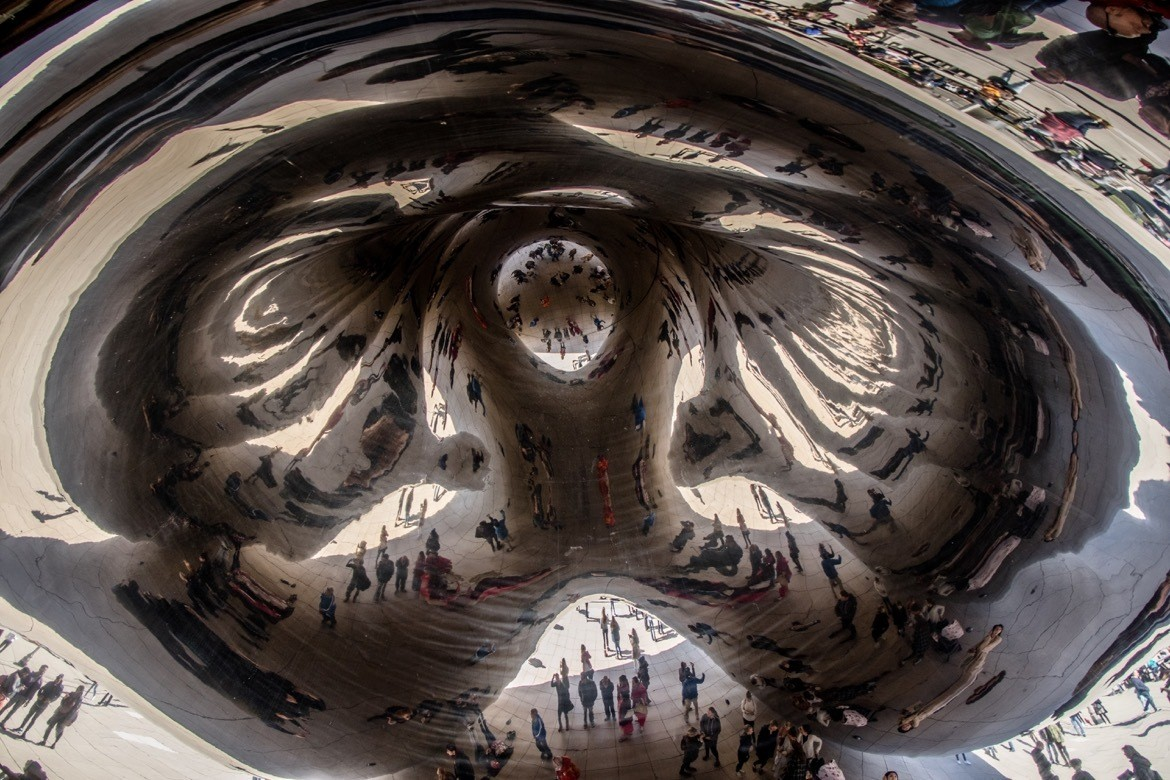 The perfect two day Chicago itinerary to hit the best photography spots. Cloud Gate, Chicago
