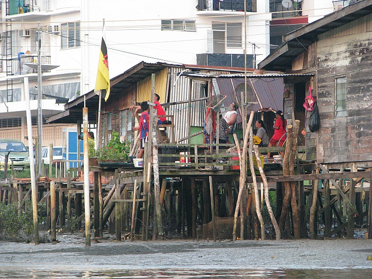 Houses in Kampong Ayer