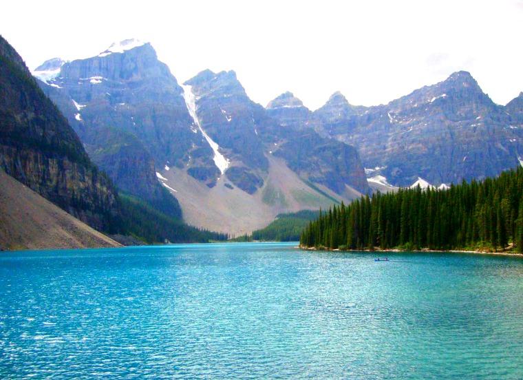 Moraine Lake in Banff.