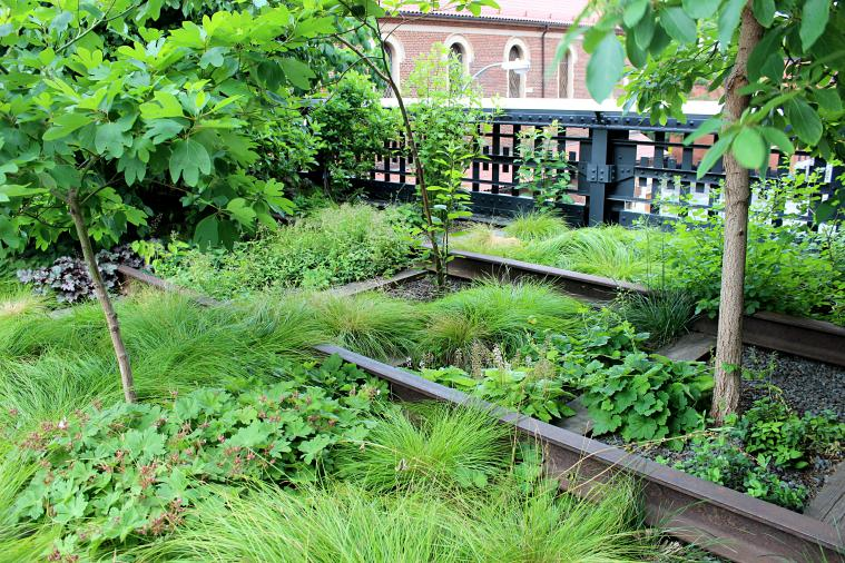 The High Line in New York City. new york city parks
