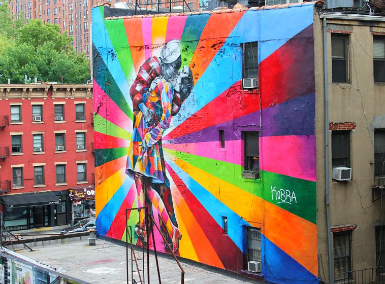 The High Line in New York City. art new york city parks