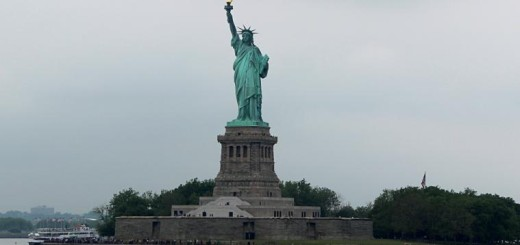 The Statue of Liberty. new york city