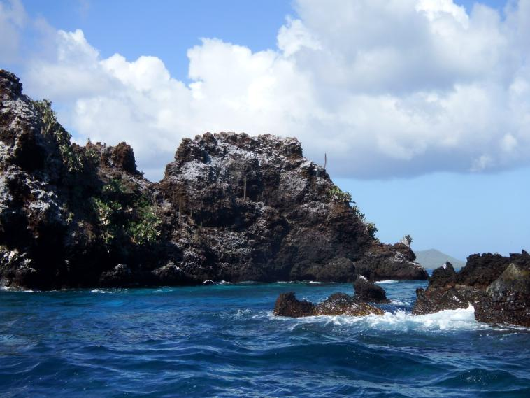 Devil's Crown in Floreana Island Galapagos