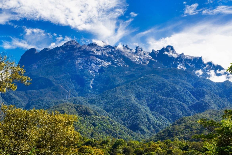 Mount Kinabalu in Sabah, Borneo, East Malaysia