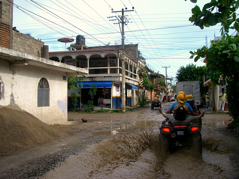 An ATV ride in Puerto Vallarta, Mexico