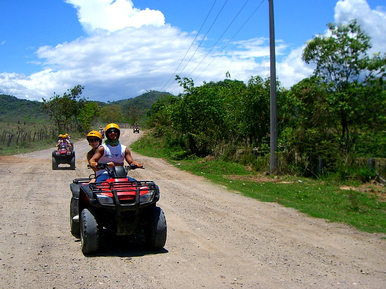 An ATV ride is one of the fun things to do in Puerto Vallarta, Mexico