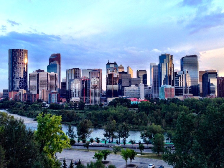 The Best Spots To Take Photos In Calgary - Stunning-art-deco-with-spectacular-river-and-city-views