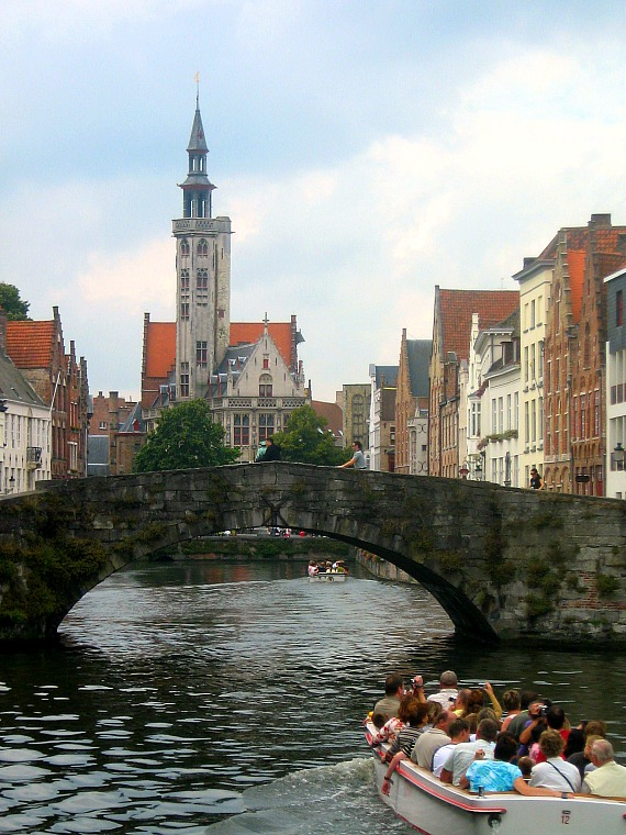 The canals of Bruges.