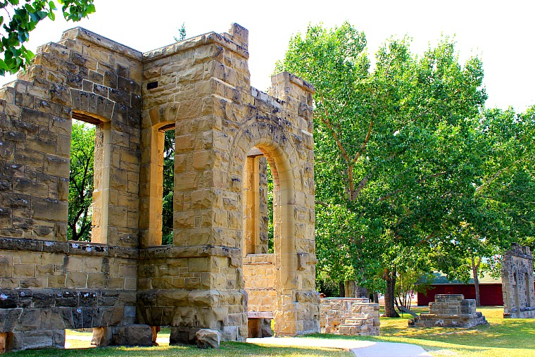 The Ramsay Ruins. Photography in Calgary, Alberta