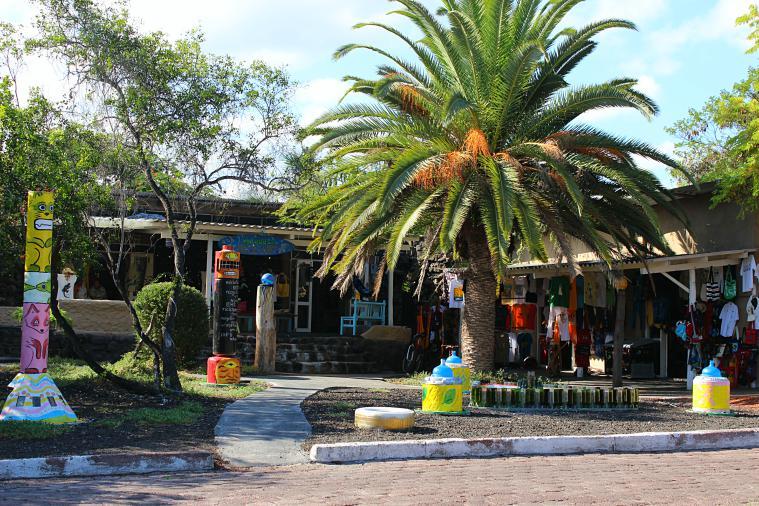 Puerto Ayora on Santa Cruz in the Galapagos Islands