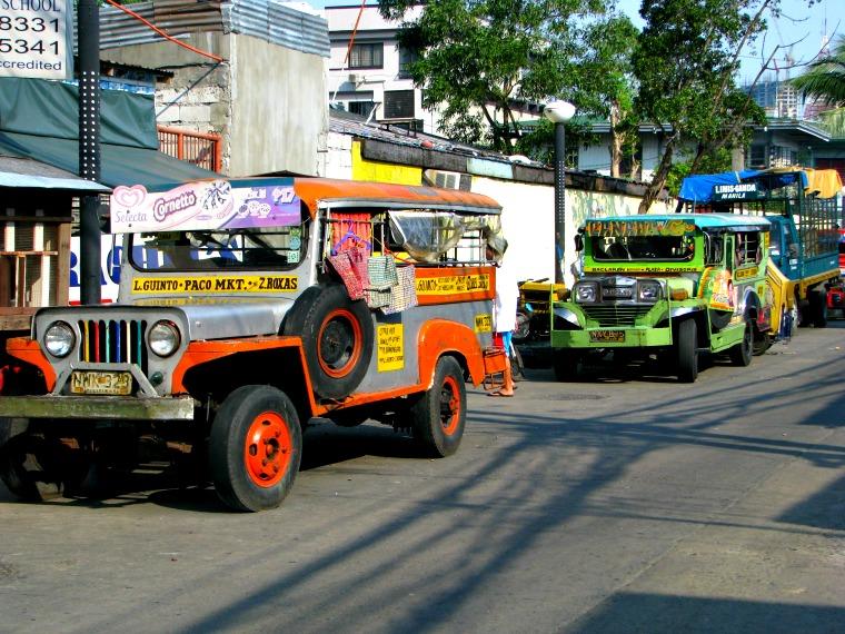 manila philippines jeepney