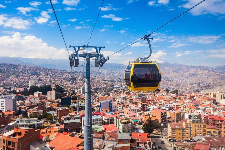 Mi Teleferico in La Paz, Bolivia