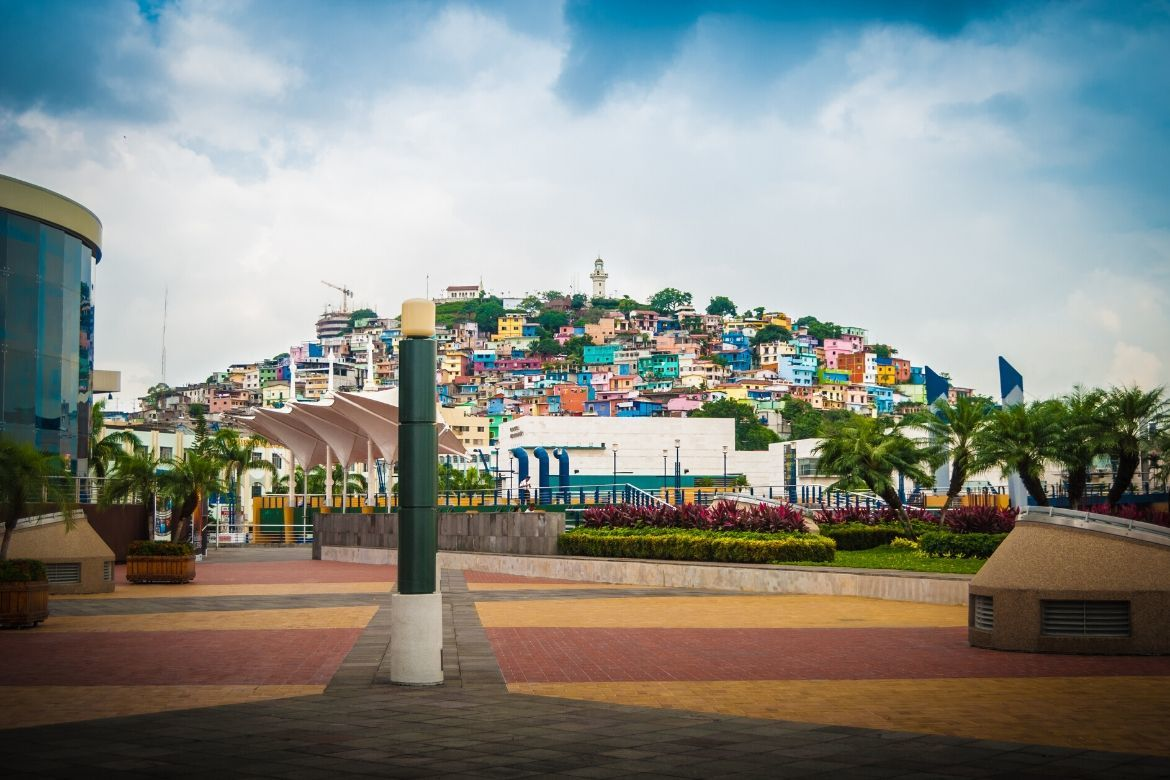 Malecon 2000 is one of the best things to do in Guayaquil Ecuador