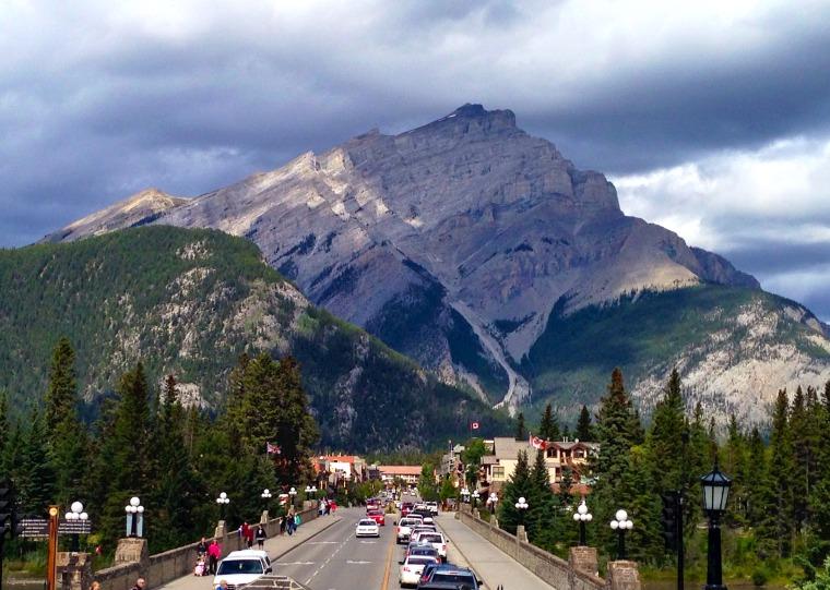 Banff townsite alberta canada