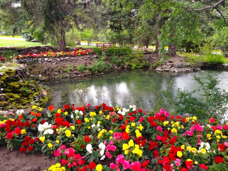 Cascade Gardens. banff alberta