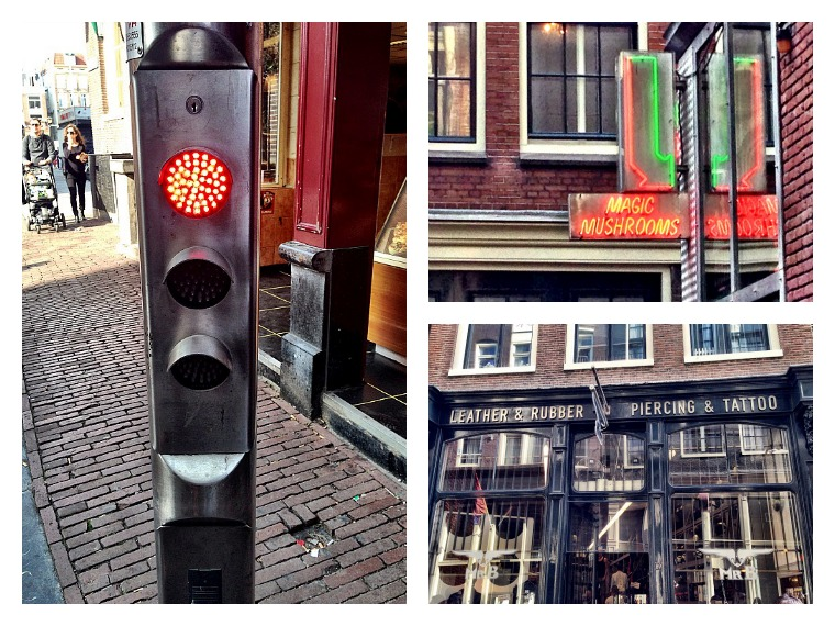 Amsterdam's Red Light district. amsterdam travel guide